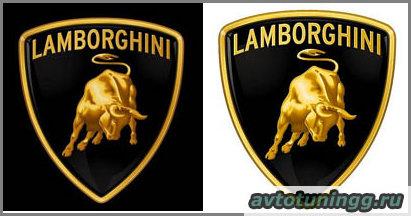 Фото Ламборджини: эмблема и логотип