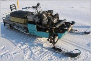 Как сделать снегоход своими руками из мотоцикла и мотоблока с видео и фото-2