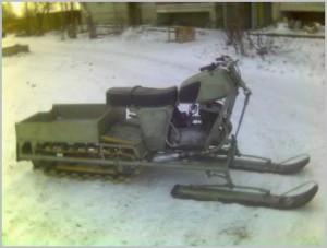 Как сделать снегоход своими руками из мотоцикла и мотоблока с видео и фото