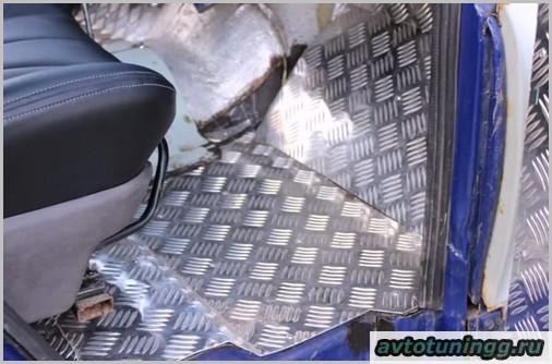 О тюнинге салона УАЗ 469 своими руками с фото-3
