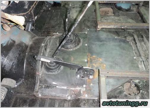 О тюнинге салона УАЗ 469 своими руками с фото
