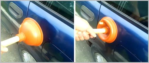Вытягивание вмятин без покраски своими руками - популярно-1