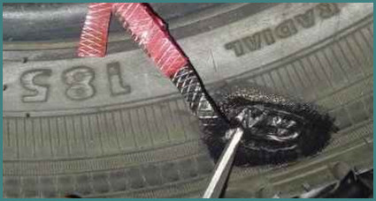 Ремонт боковых порезов шин горячей вулканизацией своими руками, советы, обзор-3