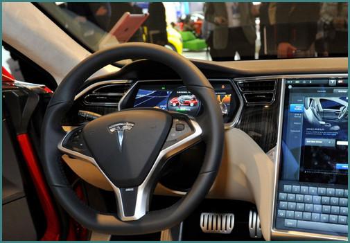 Фото автомобиля Тесла, анализ-3