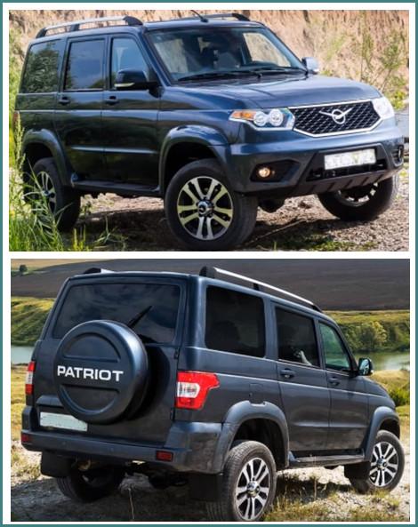 Комплектации УАЗ Патриот 2017 модельного года в новом кузове, обзор-1