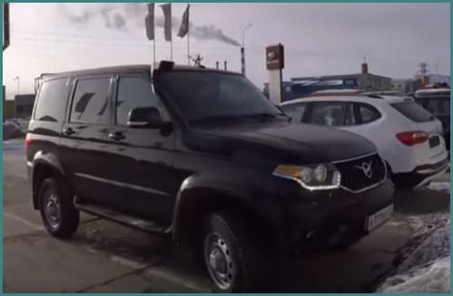 УАЗ Патриот 2018 с новым двигателем, комплектации и цены, обзор-1