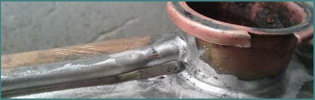 Как производится пайка радиатора охлаждения двигателя