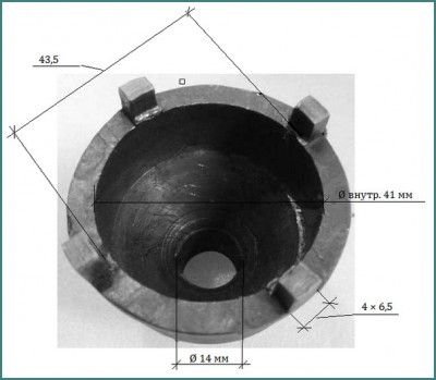 Съемник шаровых опор своими руками, обзор-5
