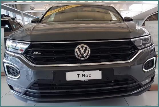 Старт продаж в России Volkswagen T-Roc 2019
