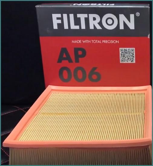 Воздушный фильтр Фильтрон, отзывы