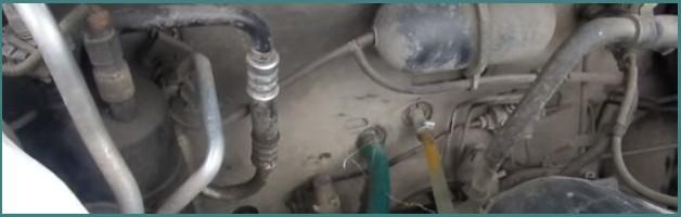 Как промыть и прочистить радиатор печки, не снимая с машины